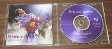 OFFICIAL! Rare PRINCE Japan PROMO ONLY CD acetate GUITAR picture sleeve 1 TRACK