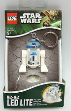 "STAR WARS LEGO R2-D2 TORCH BRAND NEW GREAT GIFT 3"" KEY-CHAIN"