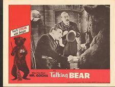 VINTAGE MOVIE LOBBY CARD #1-0090 - THE TALKING BEAR