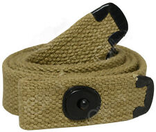 M1 CARBINE WEBBING SLING - US American Army Khaki  WW2 Repro Rifle Strap Carrier