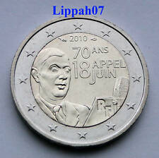 Frankrijk speciale 2 euro Charles de Gaulle 2010 UNC