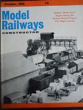 Model Railway Constructor 10 1958