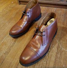 """Allen Edmonds """"Foxboro"""" Boots Chili Leather Dress Formal 10 E Retail $385"""