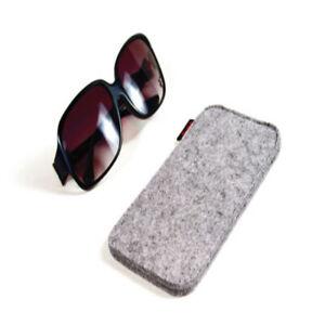 Soft Sunglasses Sleeve Glasses Pouch Felt Storage Case Scratchproof Bag Q