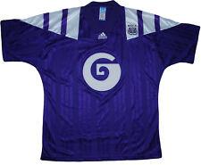 Maglia RSC Anderlecht Belgian League 1992 1993 Home Jersey vintage Adidas