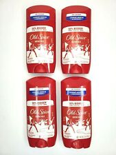 (4) Old Spice GUITAR SOLO Anti-Perspirant Deodorant Solid 3.4 oz each Exp 10/21