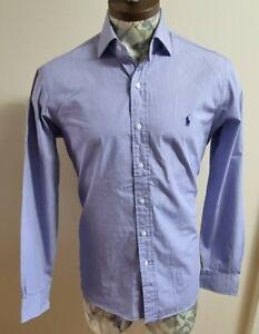 """Mens Ralph Lauren Shirt Size 16 Collar 44"""" Chest"""