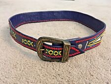 "Multi-Colored Native Themed Belt - 34"" Length"