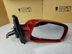 NEW RED IMPULSE PEARL Passengers Right Door Mirror Fits 2003-08 Toyota Corolla