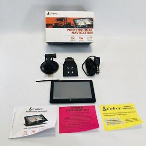 Cobra 8200 Pro HD Truckers GPS Professional Navigation Lifetime Maps & Traffic