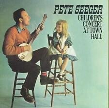 PETE SEEGER - CHILDREN'S CONCERT AT TOWN HALL NEW CD