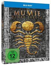 DIE MUMIE KEHRT ZURÜCK (Brendan Fraser) Blu-ray Disc, Steelbook NEU+OVP