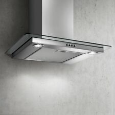 Elica Flat Glass Cooker Hood Wall Mounted - Stainless Steel 60cm PRF0093369