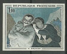 France Tableaux Daumier Crispin & Scapin Painting Gemalde Essai Proof ** 1966