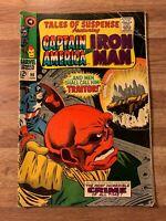 Tales Of Suspense 90 (Marvel 1967) Captain America~Iron Man~Red Skull~Silver Age