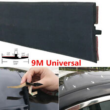 "354"" Flexible Car Roof Gutter Seal Window Sunroof Cover Strips Water Dustproof"