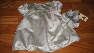 NWT NEW BABY GAP 0-3-6 POLKA DOT DRESS SHOE LOT DARLING