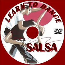 Learn Salsa Dancing Latin Dance Lessons Easy To Follow Video DVD Beginner Guide