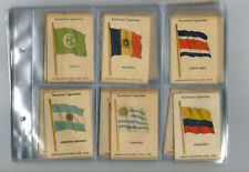 cigarette cards national flags 1934 full set