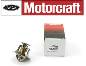 Ford Motorcraft Lincoln Mercury Engine Radiator Coolant Thermostat OEM 7L3Z8575D