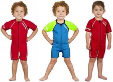 Hyperflex Children's Access Shorty Spring Suit Wetsuit 2mm, Front Zip, Sizes 1-3