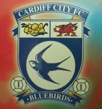 Cardiff City Home Teams Football League Fixture Programmes