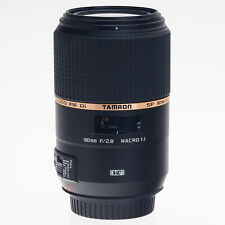 Canon Tamron 90mm F2.8 VC Di USD Macro Lens AFF004C700 (Refurbished by Tamron)
