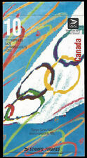 """1992 Canada SC#1418b """"Summer Olympics"""" 0.42¢ - Booklet of 10 stamps MNH"""