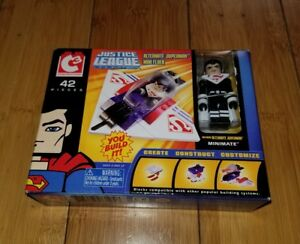 C3 JUSTICE LEAGUE SUPERMAN MINI FLYER VEHICLE MINIMATES ALTERNATE FIGURE SET 1E