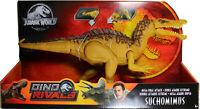 Jurassic World ~ MEGA DUAL ATTACK SUCHOMIMUS ACTION FIGURE ~ Dino Rivals