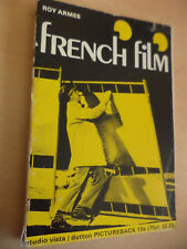 FRENCH FILM OLD VINTAGE STUDIO VISTA MOVIE HISTORY BOOK 1970s ROY ARMES
