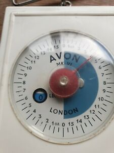 Avon of London Vintage Scales (8 lb) . MK.V1 Model. Used but working.