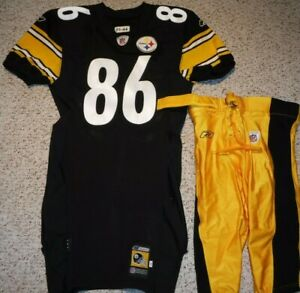PITTSBURGH STEELERS HINES WARD  2001 GAME JERSEY 2001 GAME PANTS TEAM ISSUE