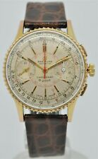 Vintage Breitling Chronomat 769 Gold plated chronograph luxury gents watch