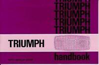 1969 1970 1971 1972 1973 Triumph Tr6 Owners Handbook