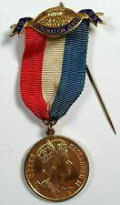 More details for raob sterling silver coronation jewel queen elizabeth ii 1953  j.w cameron lodge