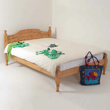 4ft6 Double Bed STRONG Frame Solid Pine Wood HIDDEN FITTINGS Hilton LF