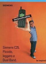 CIAK999-PUBBLICITA'/ADVERTISING-1999- SIEMENS C25