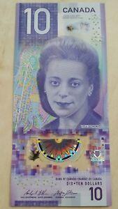 CANADA $10 Dollars 2018 P NEW Viola Desmond Wilkins/Poloz UNC Polymer Banknote