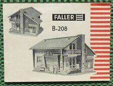 Faller Ams Original Booklet For Kit 208 (MA141)
