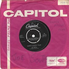 """Joe South  Games People Play 7"""" CAPITOL 1968 CL 15579  MIRROR OF YOU"""