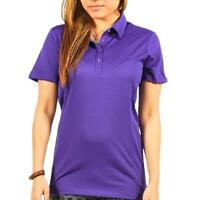 PUMA Golf Tech Polo Shirt - Prism Violet - Women's size XS