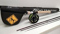 Echo Traverse 890-4 Fly Rod Outfit - 9' - 8wt - New