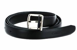 Calvin Klein Archive Square Buckle Belt W100 Gürtel CK Black Schwarz