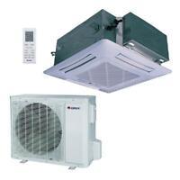 GREE 23800 BTU Ductless Ceiling Cassette Mini Split Air Conditioner