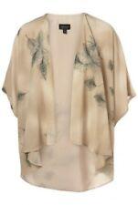 Vintage Topshop Premium Feather Drape Kimono Jacket Cardigan Cape Top 12 40 US8