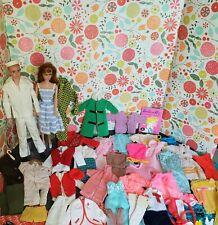 Vintage Ken & Barbie Doll Lot - barbies, clothes, shoes and vintage barbie case!