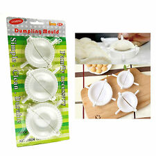 3 Sizes Dough Press Dumpling Gyoza Pie Making Maker Mold Mould Tool US Stock