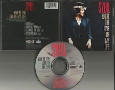 SYBIL You're the Love of my life RADIO & EXTEND & INSTRUMENTAL PROMO CD single