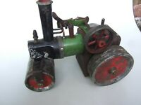 ANTIQUE  MAMOD ENGLISH STEAM ENGINE TRACTOR ROLLER TOY ESTATE RESTORER DELIGHT